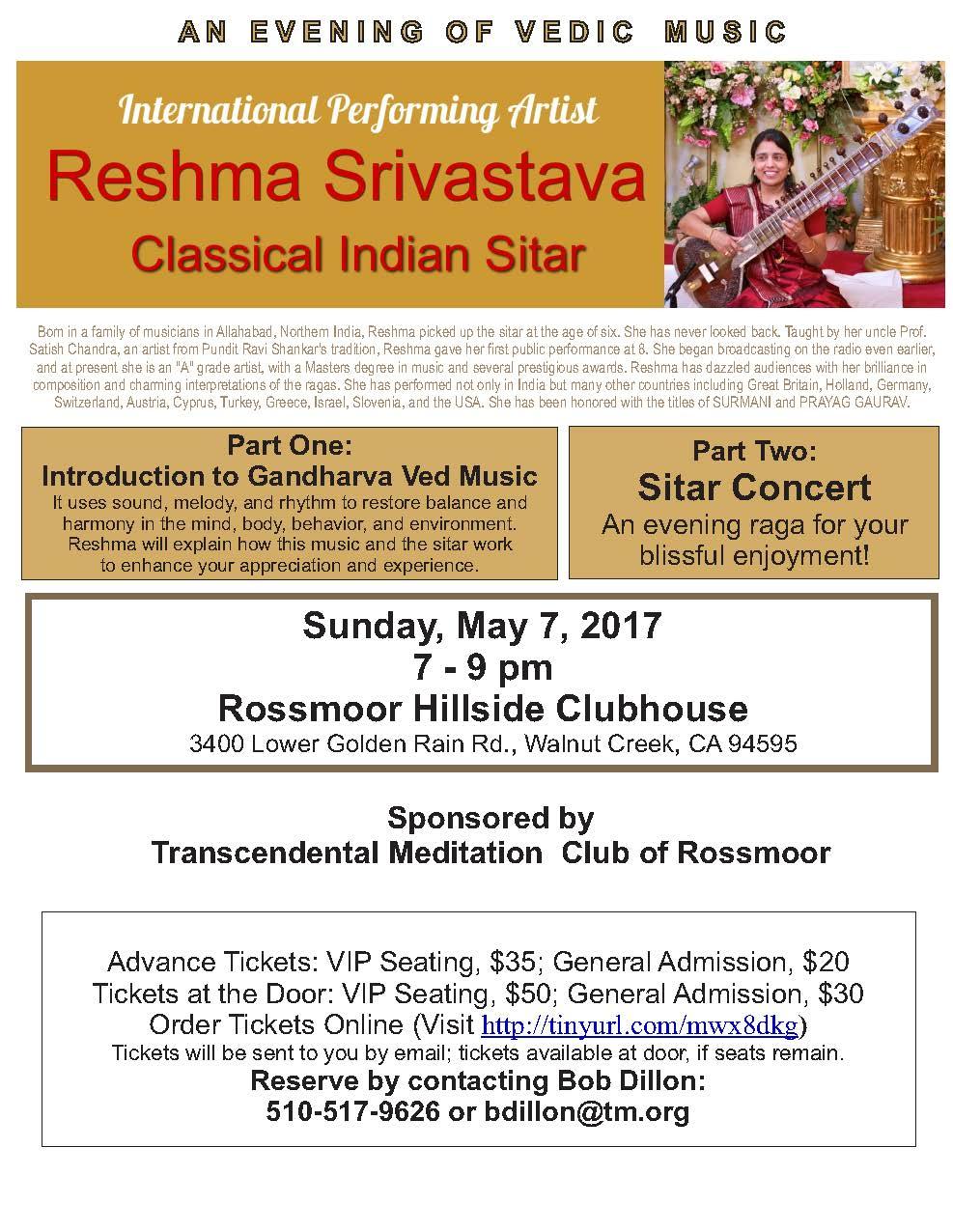 Rossmoor SitarConcertFlyer-2017-Rossmoor_1